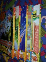 Used Geronimo stilton books in bundles of 5 in Dubai, UAE