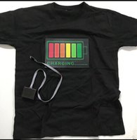 Used LED lights voice activated tshirt in Dubai, UAE
