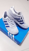 Used Almost new Adidas shoes + outfit & mat in Dubai, UAE
