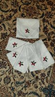 Used 6 handmade star napkins in Dubai, UAE