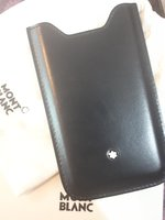 Used Iphone 5 , 5s mont blanc mobile cover in Dubai, UAE