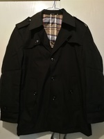 Used New black high quality men jacket size L in Dubai, UAE