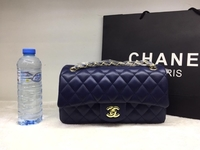 Used CHANNEL LADIES BAG BLUE  in Dubai, UAE