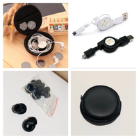 Used Bundle of headphone case/gummy/data usb  in Dubai, UAE
