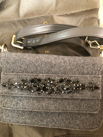 Used C&K grey handbag in Dubai, UAE