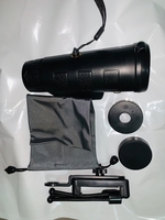 Used 40x zoom lens for smartphone with tripod in Dubai, UAE