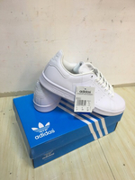 Used Adidas Stan Smith white, size 42, new in Dubai, UAE