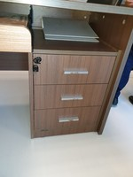 Used Office Tables and Mobile Drawer Pedestal in Dubai, UAE