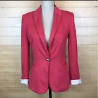 Preloved Zara Hot Pink Blazer