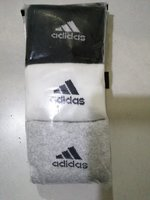 Used Original Adidas Socks - 3 Pairs in Dubai, UAE