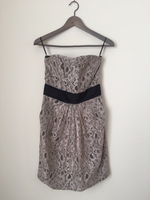 Used H&M Pink Lace Party Dress Knee Length S in Dubai, UAE