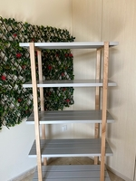 Used Wooden with metal shelves  in Dubai, UAE