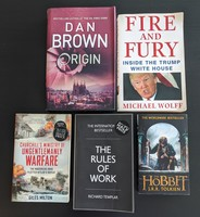 Used Books, incl. Fire and Fury, The Hobbit in Dubai, UAE