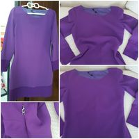 Used Versace purple dress in Dubai, UAE