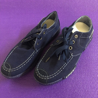 Used Blue Denim Men's Shoes/40 in Dubai, UAE