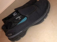 Used Skechers black shoes in Dubai, UAE