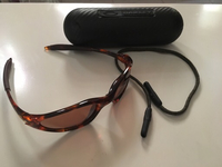 Used Oakley sunglasses original with box used in Dubai, UAE