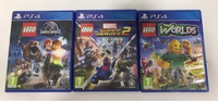 Used 3 LEGO games (Ps4) in Dubai, UAE