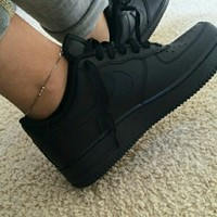 Used Reduced Price!!! NIKE AIR FORCE ONE (BLACK) in Dubai, UAE