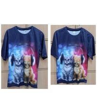 Used 2 pcs of T-shirt size small n size Large in Dubai, UAE