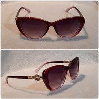 Used Beautiful mix purple red Sunglass FASHIO in Dubai, UAE