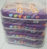 Used Baby diapers 200 pcs made in europe in Dubai, UAE