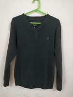 Used Men's Knit Sweaters Slim Fit size Large in Dubai, UAE