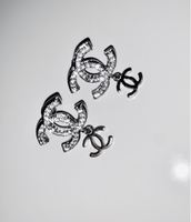 Used Chanel earrings with Crystals  in Dubai, UAE