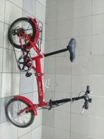 Used 16 inch foldabel bike with gaer in Dubai, UAE