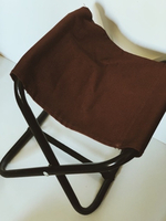 Used Portable camping seat (brown) size S in Dubai, UAE