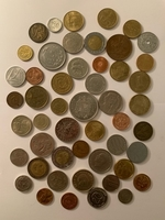 Used Lot of 50 random coins in Dubai, UAE