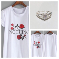 T-SHIRT S+M plus one gift 🎁 ring