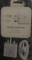 Used Fast charge type c adapter+usb 1.5mm in Dubai, UAE