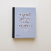 Used Book: Hyperactive Typography in Dubai, UAE