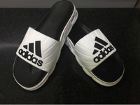 Used Adidas women's slippers size 37 new in Dubai, UAE
