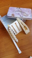 pearl clips in box