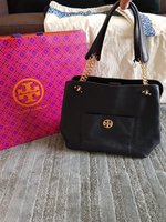 Used Tory Burch black bag in Dubai, UAE