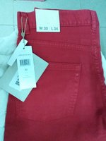 Used JEANS LACOSTE STRETCH FIT. RED 34/36 in Dubai, UAE