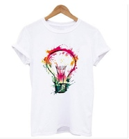 Used T-Shirt Summer Fashion Colorful Light in Dubai, UAE