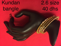 Used Kundan bangles new  in Dubai, UAE