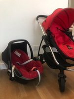 Used icandy strawberry stroller & maxi-Cosi in Dubai, UAE