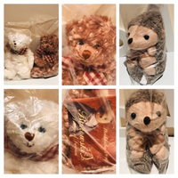 Used 2 teddys & Plush Hedgehog in Dubai, UAE