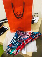 Used Hermès 100% Silk Head/Shoulder Scarf in Dubai, UAE
