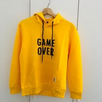 Used Yellow hoodie size medium  in Dubai, UAE