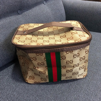 Used COSMETIC BAG + 🎁WIRELESS EARPHONE  in Dubai, UAE
