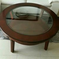 Used Home Center Coffee Table Glass Top  in Dubai, UAE