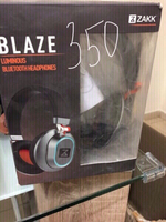 Used Zakk blaze Bluetooth headphone brand new in Dubai, UAE