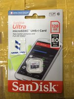 Used SanDisk ultra microsdxd 128 GB orginal in Dubai, UAE