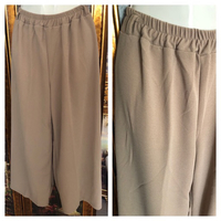 NEW LADIES WIDE LEG PANTS M