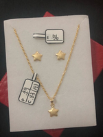 Used SET NECKLACES AND EARRINGS 1.68 grams in Dubai, UAE